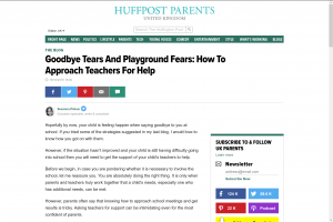 Screenshot of goodbye tears and playground fears: how to approach teachers for help article