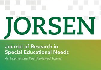 Journal Of Research in Special Education Needs