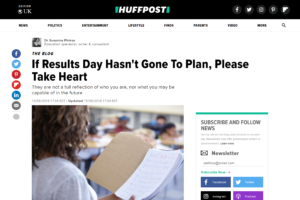 Screenshot of if results day hasn't gone to plan, please take heart article